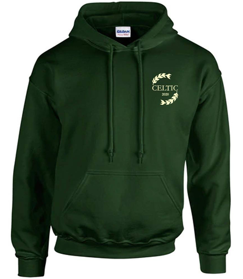 Classic Green Celtic Hoodie